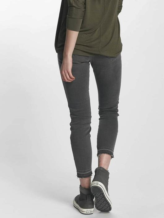 Mavi Jeans Tynne bukser Adriana Mid Rise Super grå