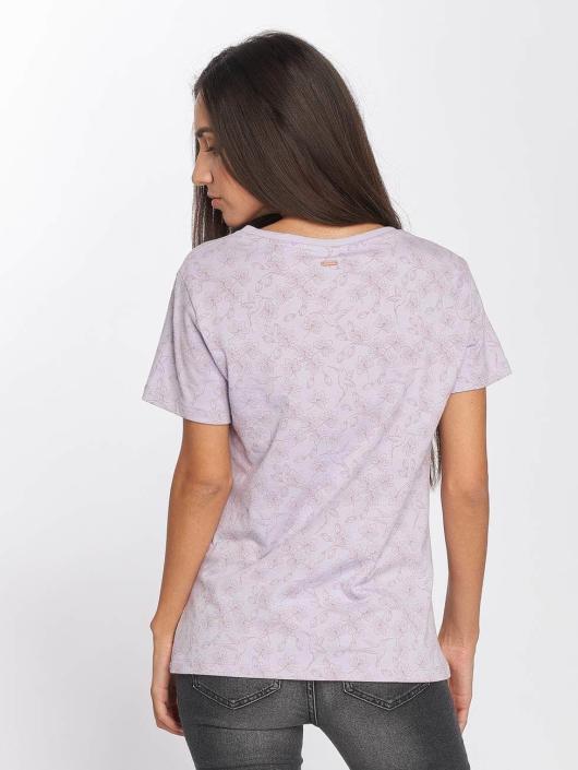 Mazine T-Shirty Flora fioletowy