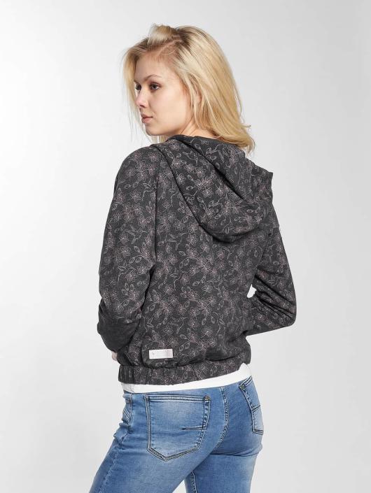 Mazine Zip Hoodie Groby Light black