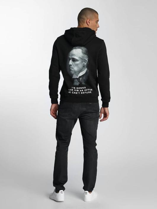 Merchcode Bluzy z kapturem Godfather Rose czarny