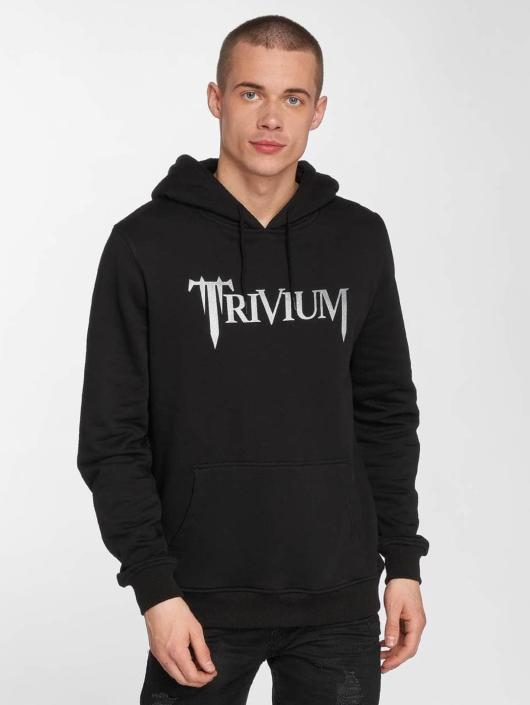 Merchcode Bluzy z kapturem Trivium Logo czarny