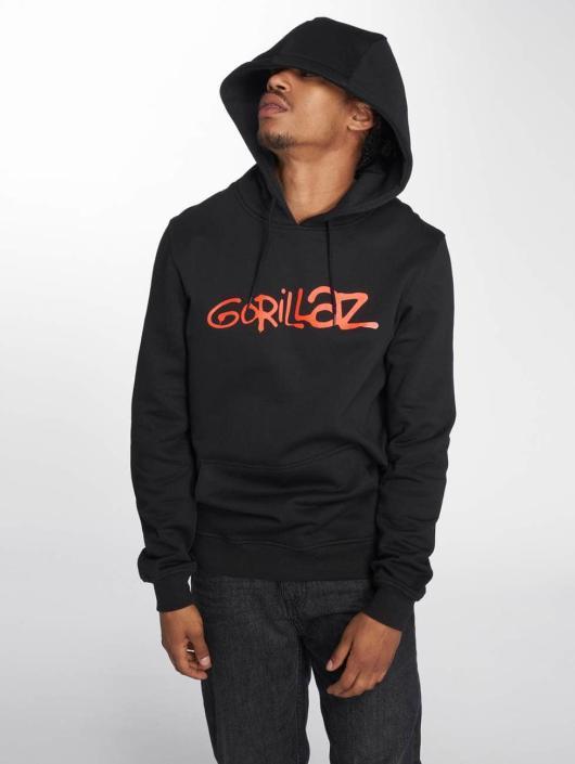 Merchcode Bluzy z kapturem Gorillaz Logo czarny