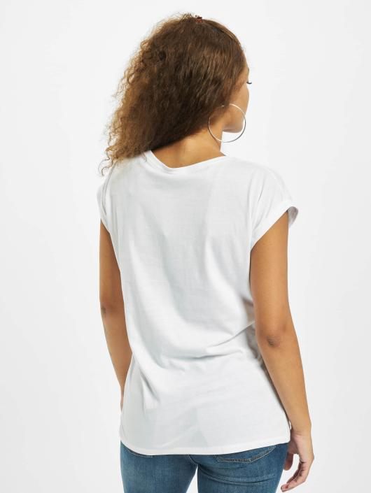 Merchcode Camiseta Ladies Ed Sheeran Guitar blanco