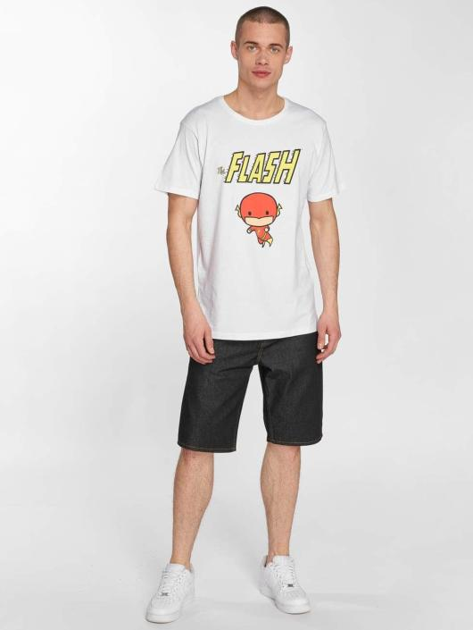 Merchcode Camiseta The Flash Comic blanco