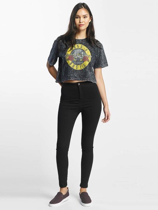 Merchcode Camiseta Guns N Roses Oversize gris