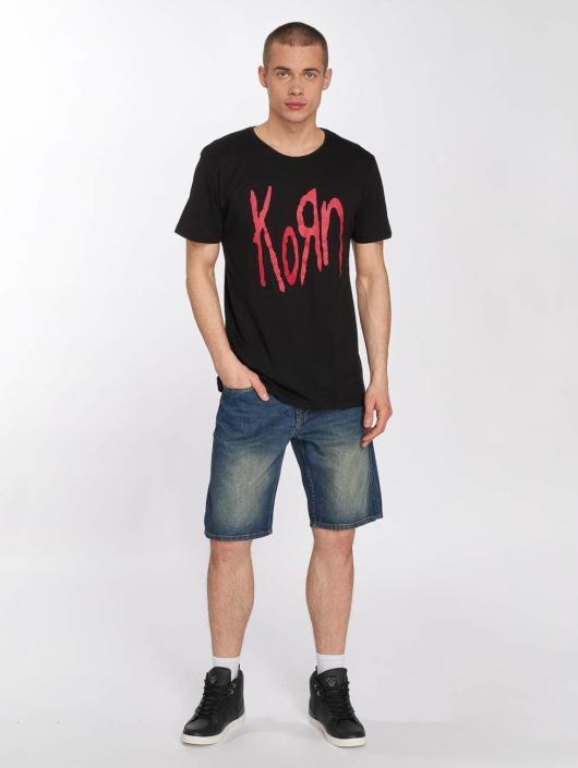 Merchcode Camiseta Korn Logo negro