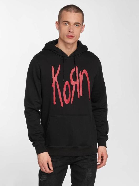 Merchcode Hoodie Korn Logo svart