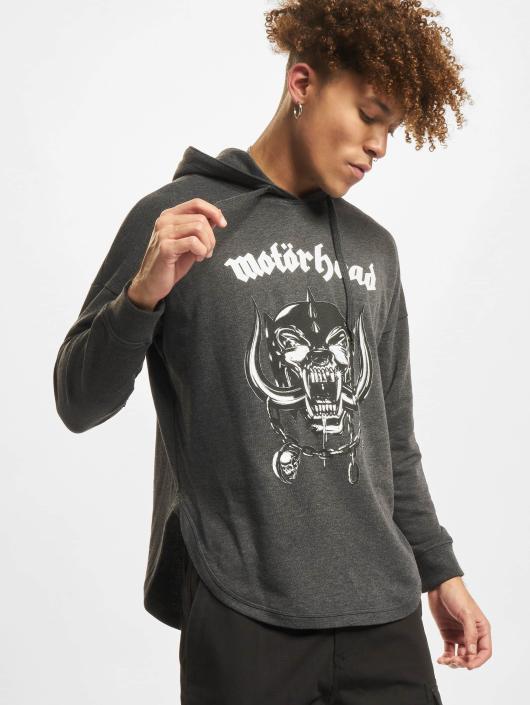Merchcode Hoodies Motörhead Everything Louder šedá