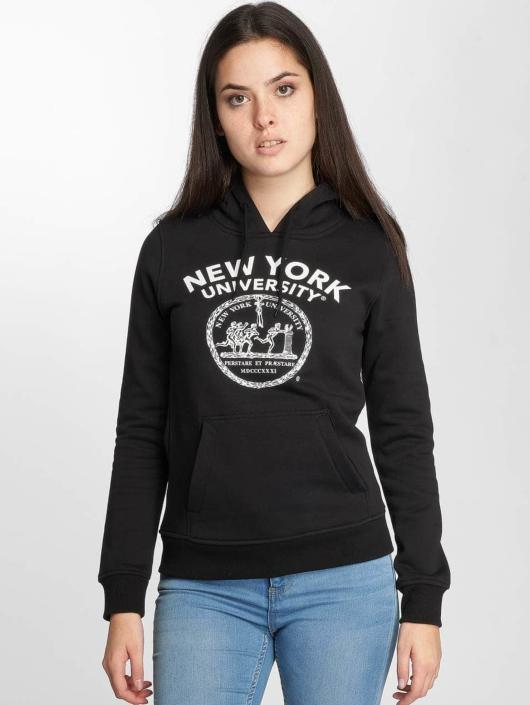 Merchcode Hoodies NYU Logo sort