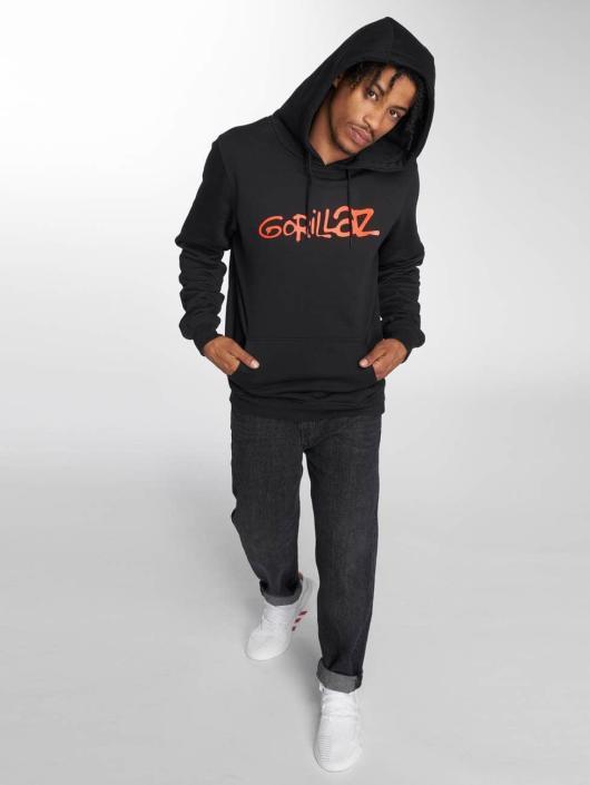Merchcode Hoody Gorillaz Logo schwarz