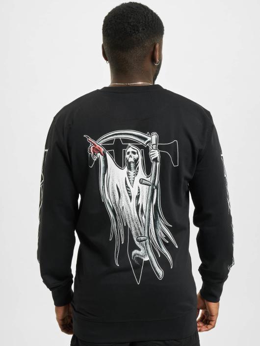 Merchcode Pullover Trivium Pointing Reaper black