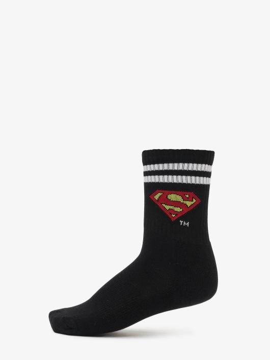 Merchcode Socken Double Pack Superman schwarz