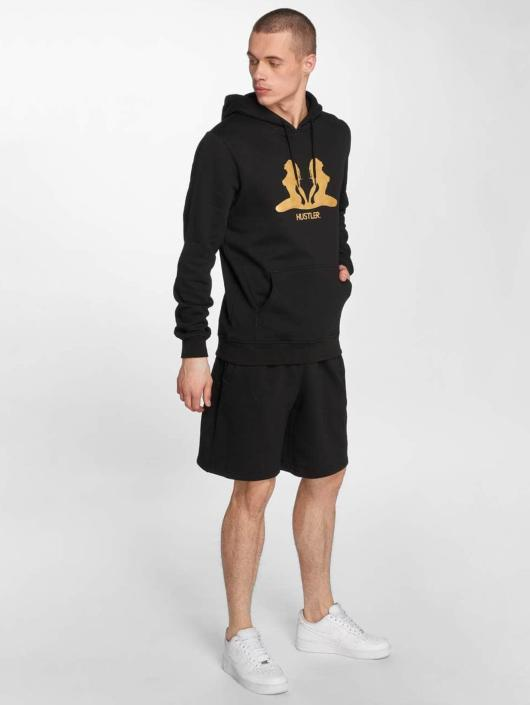 Merchcode Sweat capuche Hustler Golden noir
