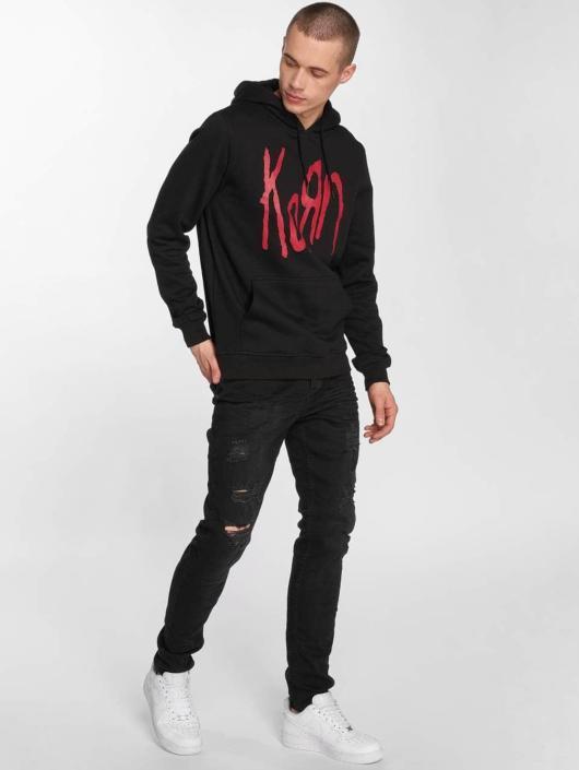 Merchcode Sweat capuche Korn Logo noir