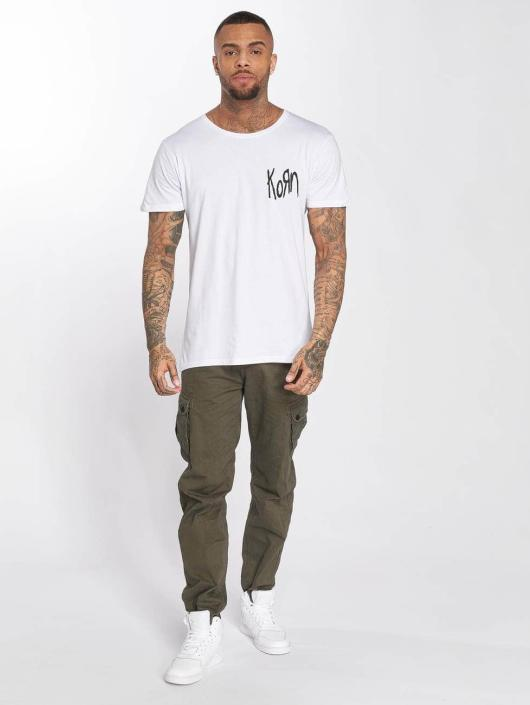 Merchcode T-shirt Korn Suffering bianco