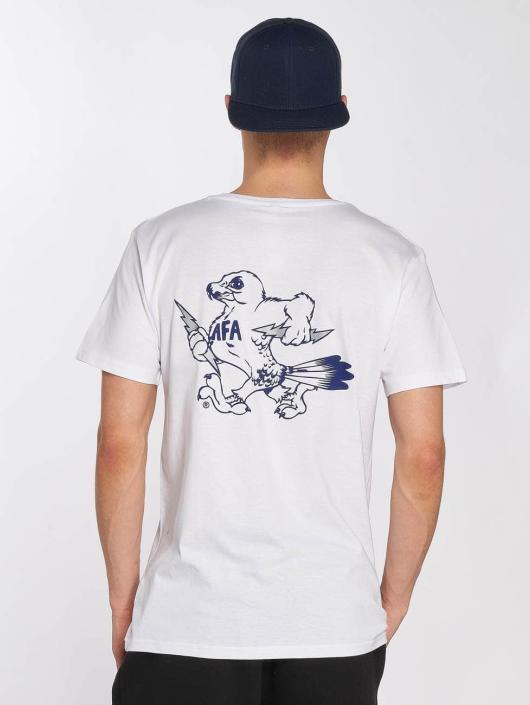 Merchcode T-shirt Air Force Bird bianco