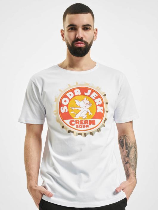 Merchcode T-Shirt Soda blanc