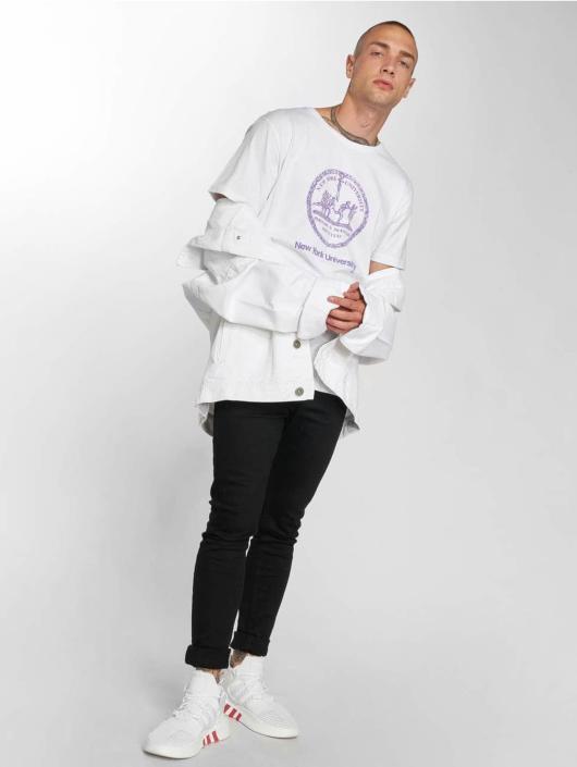 Merchcode T-Shirt Nyu blanc