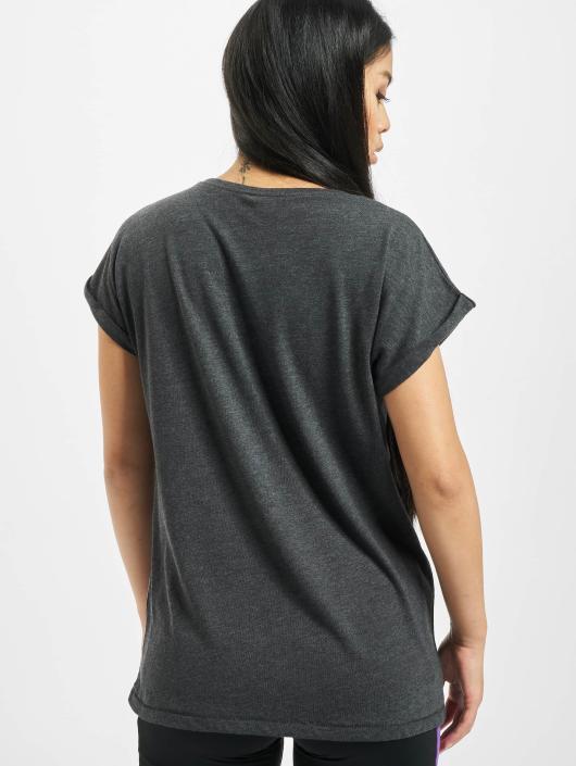 Merchcode T-Shirt Betty Boop Star gris