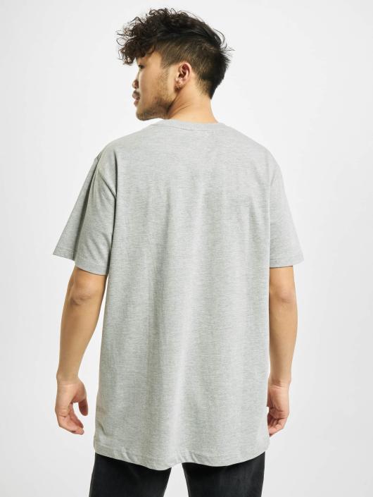 Merchcode T-Shirt Hustler Mouth gris