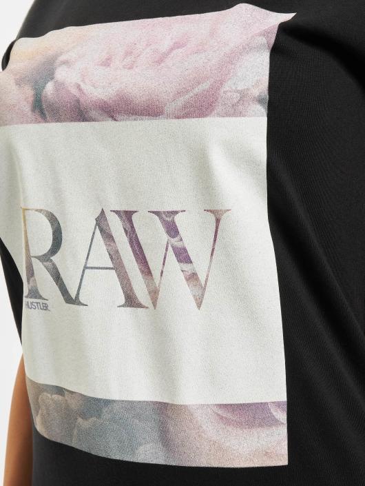 Merchcode T-shirt Hustler Raw nero