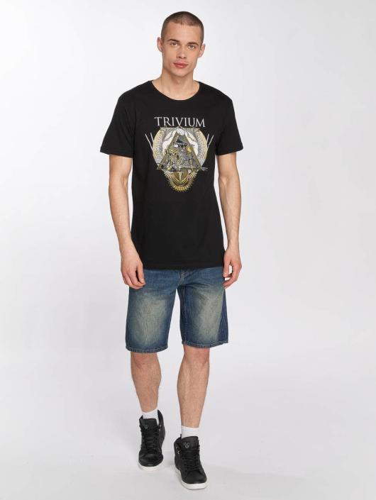 Merchcode T-Shirt Trivium Triangular War noir