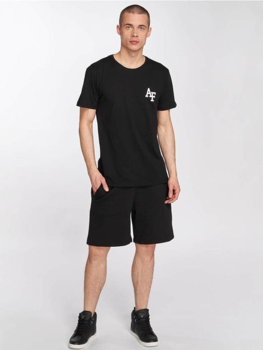 Merchcode T-Shirt Air Force Academy Logo schwarz