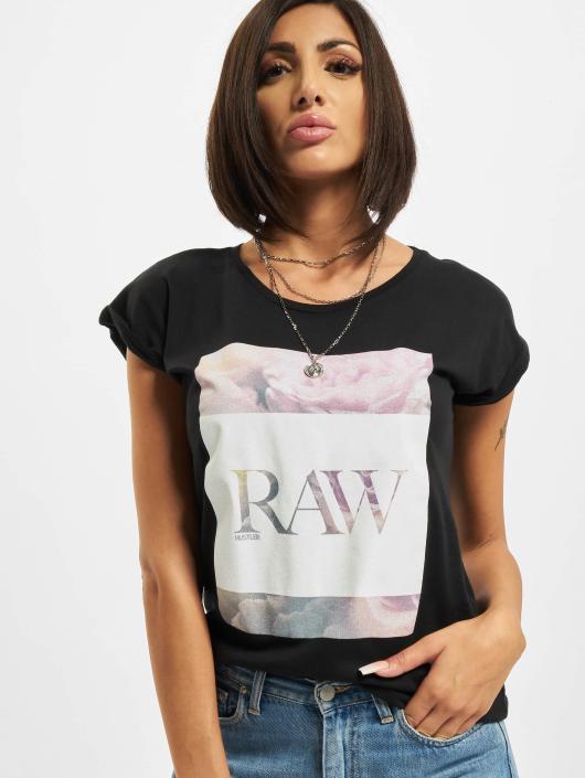Merchcode T-shirt Hustler Raw svart