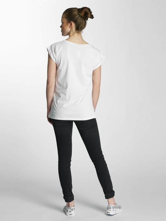 Merchcode T-Shirt Ladies Banksy weiß