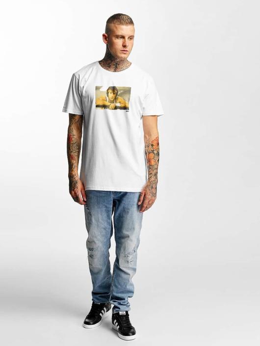 Merchcode T-Shirt Rocky Break weiß