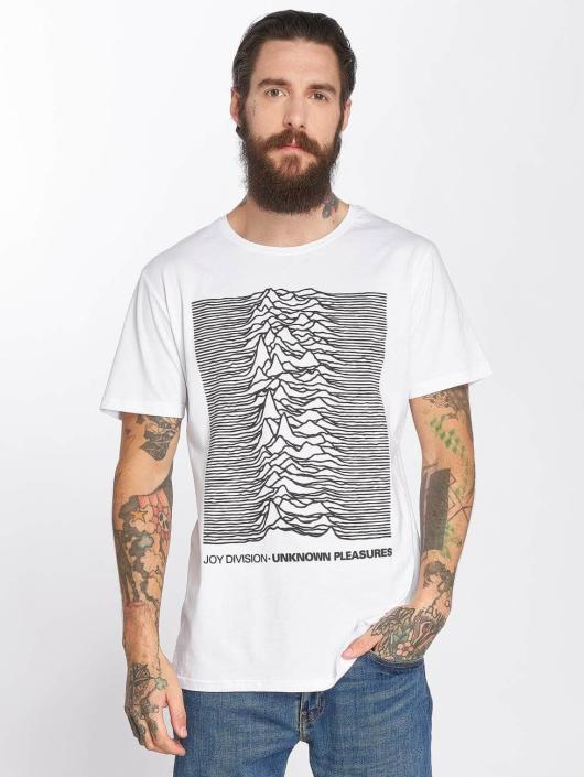 Merchcode T-Shirt Joy Division Up weiß
