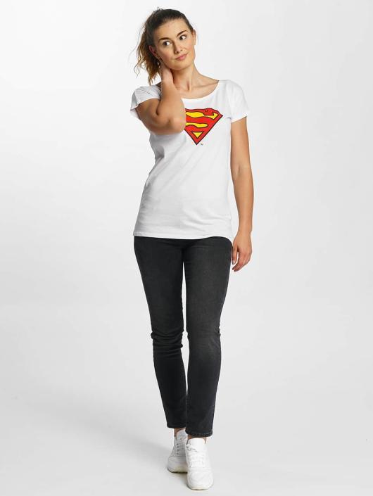 Merchcode T-Shirt Superman Logo white
