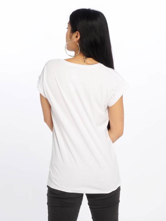 Merchcode T-Shirt Petsrock King Of Fashion white