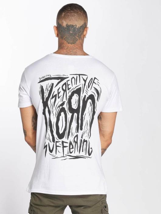 Merchcode t-shirt Korn Suffering wit