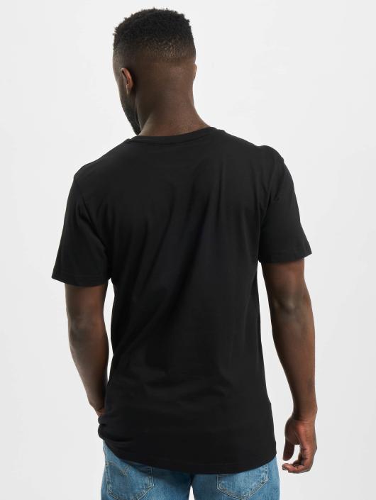 Merchcode t-shirt Johnny Cash Walk The Line zwart