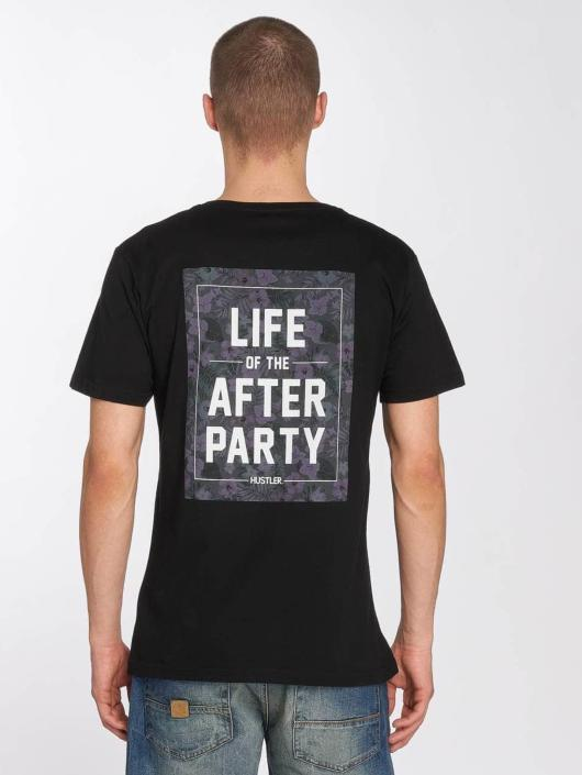 Merchcode t-shirt Hustler Afterparty zwart