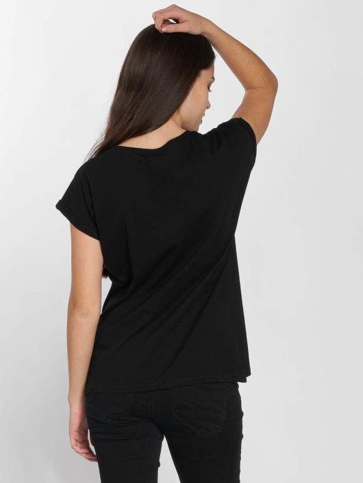 Merchcode t-shirt Hustler Smoke zwart