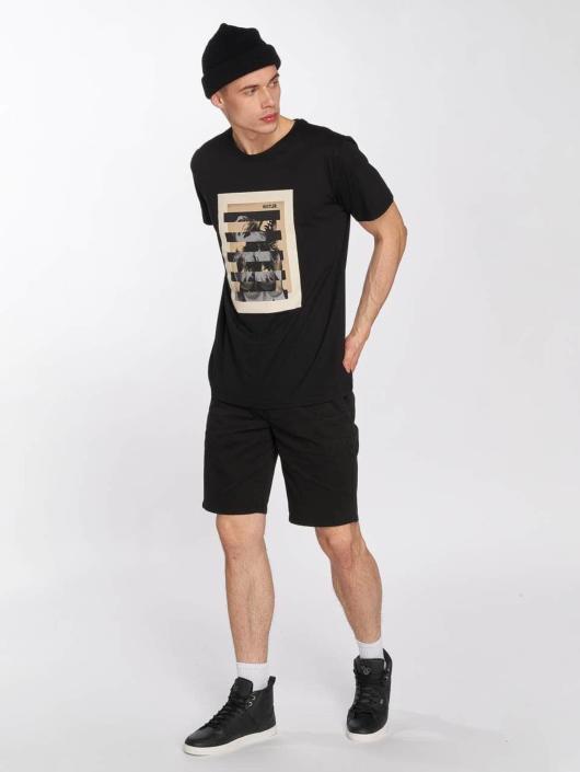 Merchcode t-shirt Hustler Bar zwart