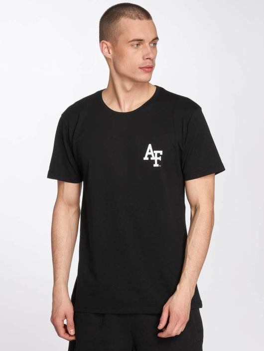 Merchcode t-shirt Air Force Academy Logo zwart