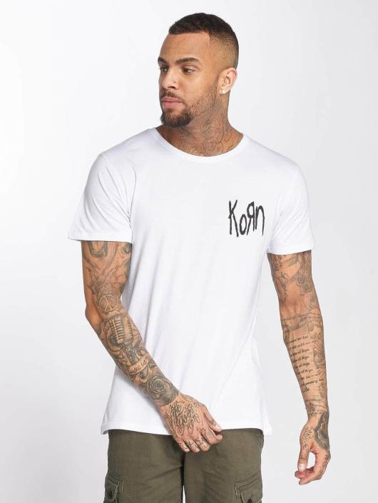 Merchcode T-shirts Korn Suffering hvid