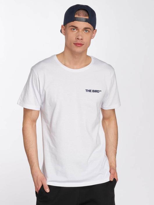 Merchcode T-shirts Air Force Bird hvid