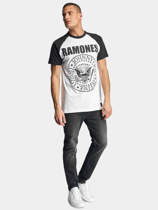 Merchcode T-Shirty Ramones bialy