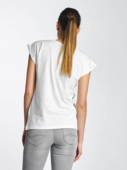 Merchcode T-Shirty Lady Gaga Hat bialy