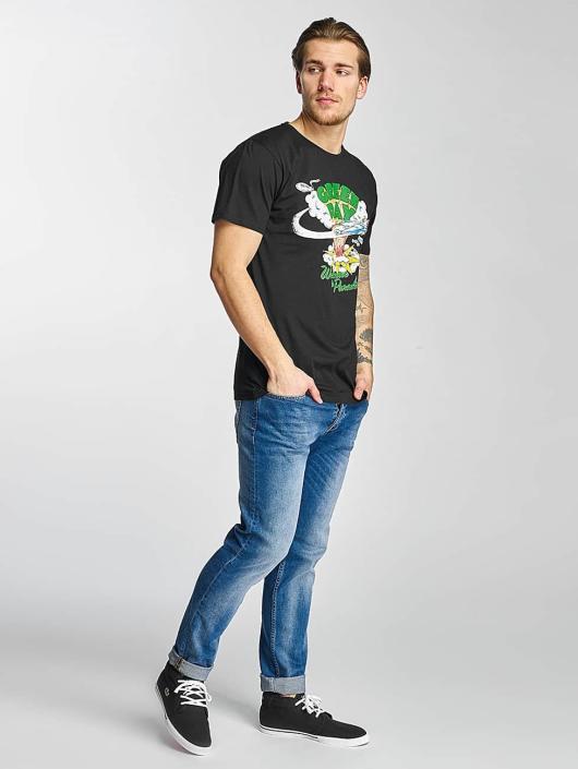 Merchcode T-Shirty Green Day Paradise czarny