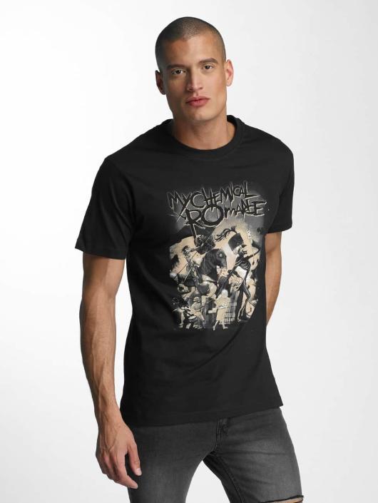 Merchcode T-Shirty My Chemical Romance On Parade czarny