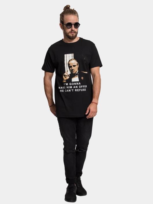 Merchcode T-Shirty Godfather Refuse czarny