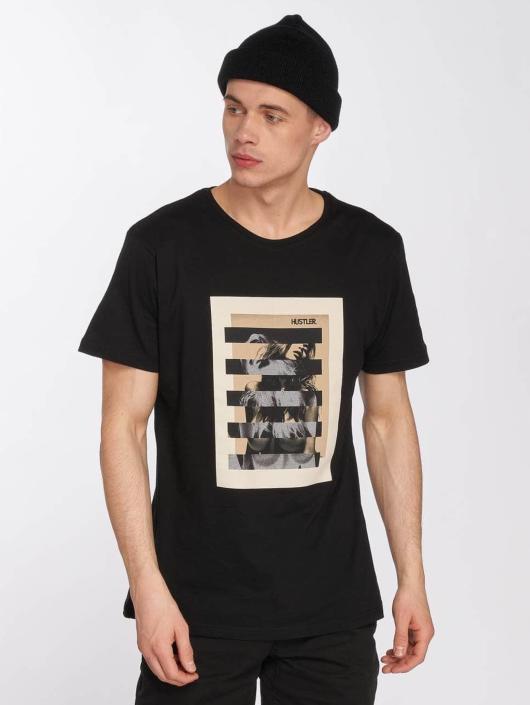 Merchcode T-Shirty Hustler Bar czarny