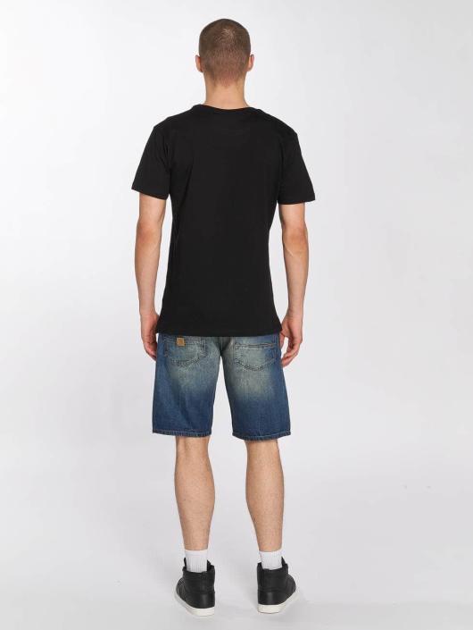 Merchcode T-Shirty Hustler Embroidery czarny
