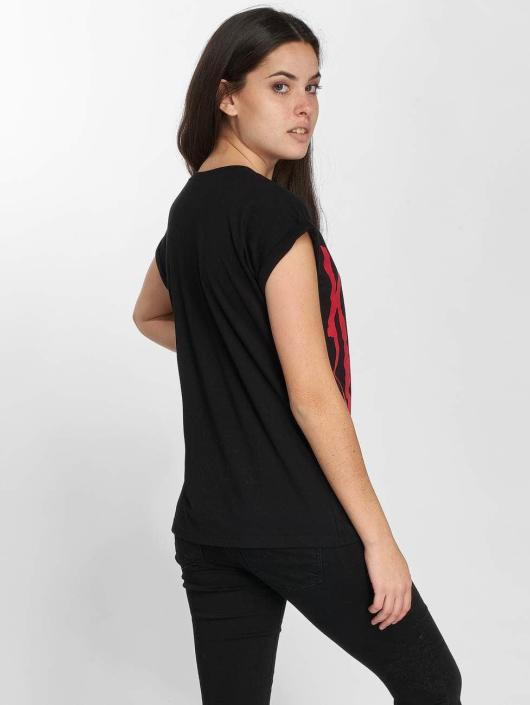 Merchcode T-Shirty Korn Logo czarny