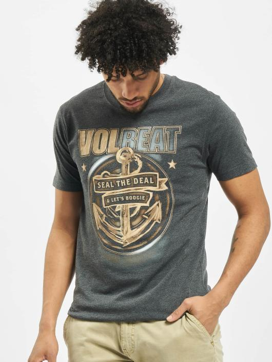 Merchcode T-Shirty Volbeat Seal The Deal szary